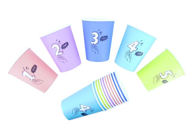 紙コップセット デザイン例 ※5個1セット