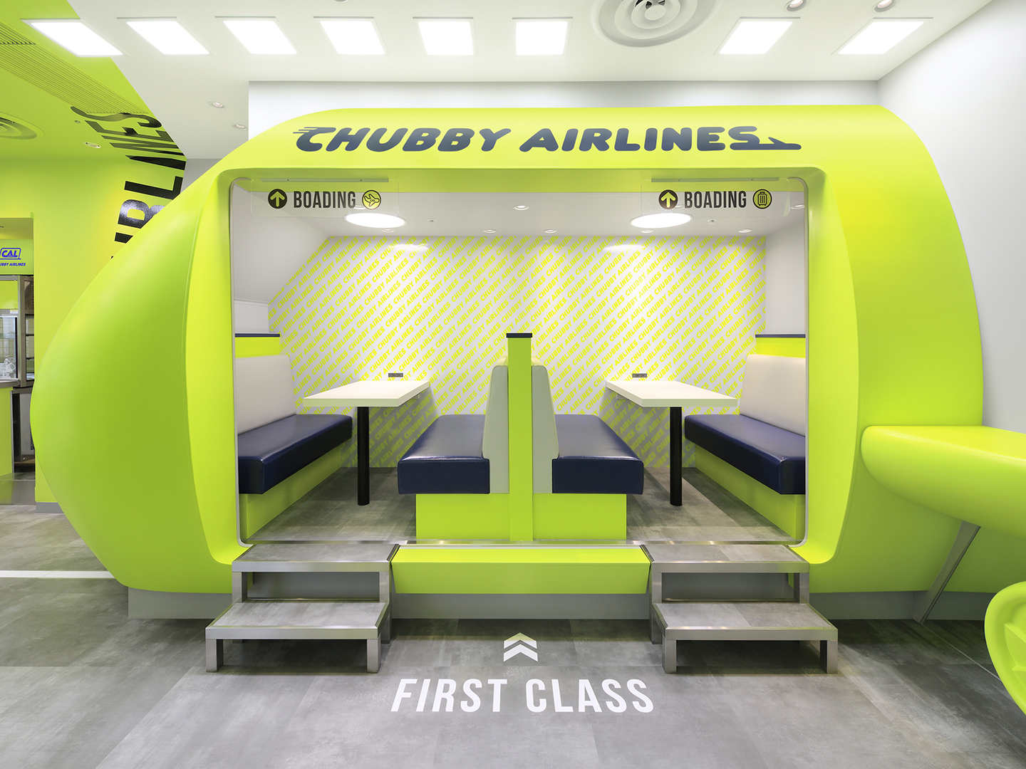 『CHUBBY AIRLINES』内観イメージ