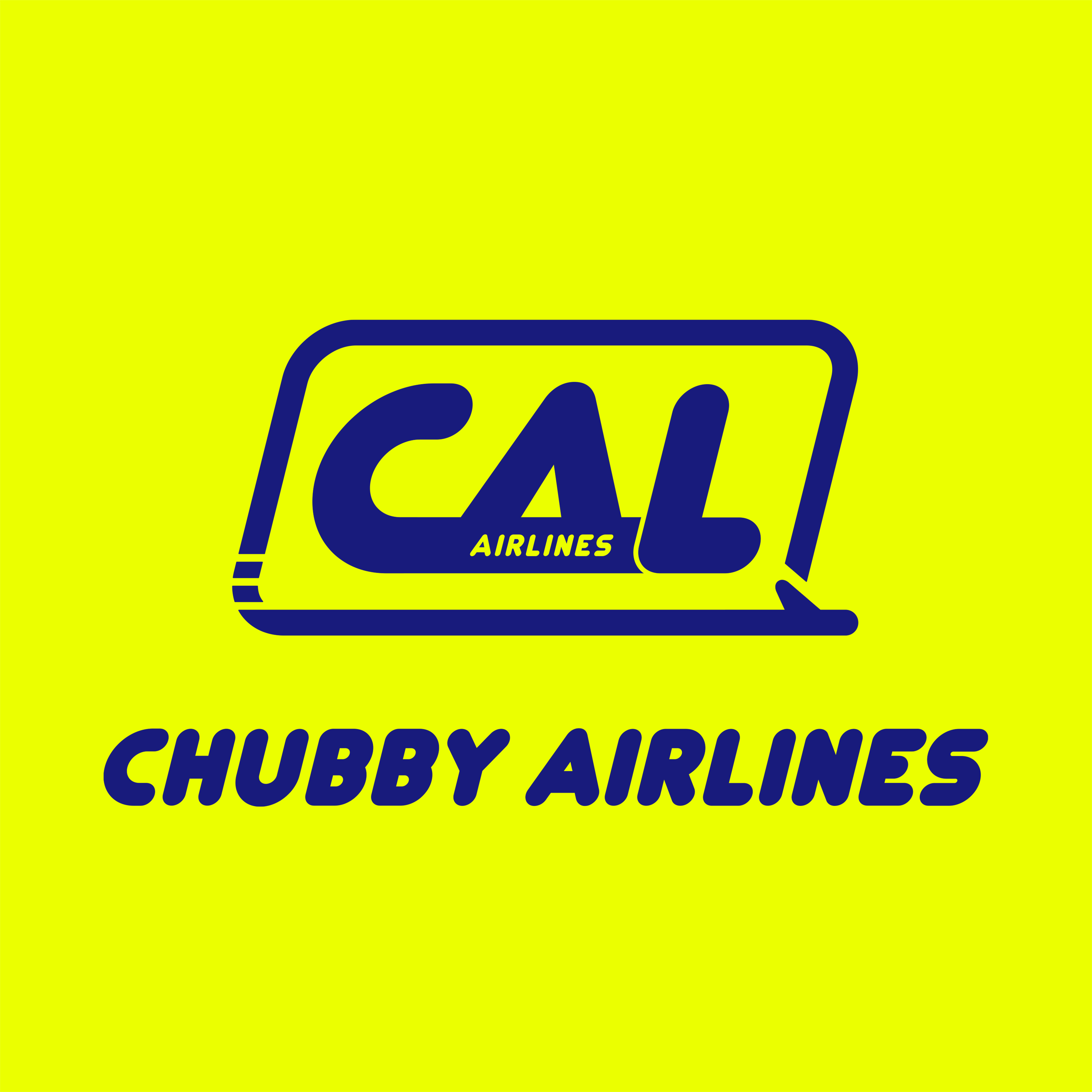 CHUBBY AIRLINESロゴ