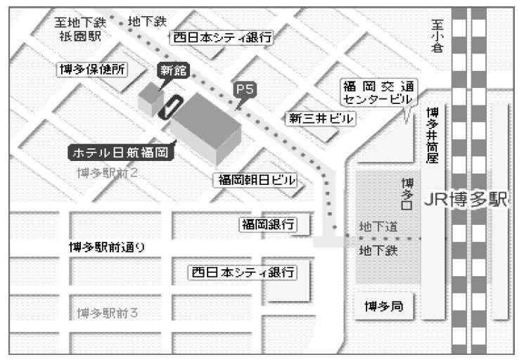 フリュー株式会社<福岡> 地図